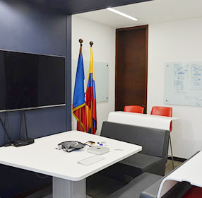 Colombia office workspace